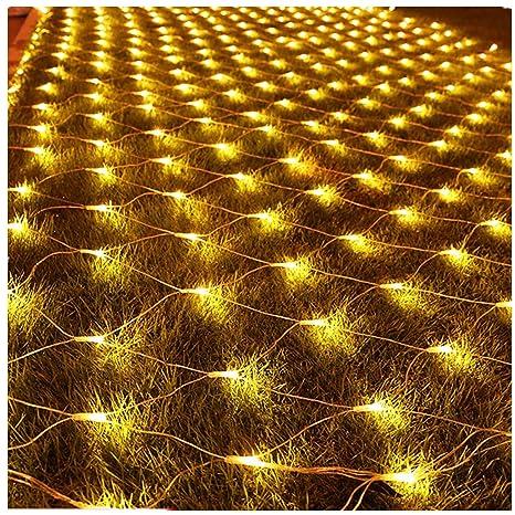 infilila net lights mesh string light 98x66ft 200 led plug in indoor