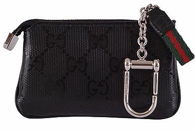 Amazon.com: Gucci GG Guccissima Negro Imprime cartera ...