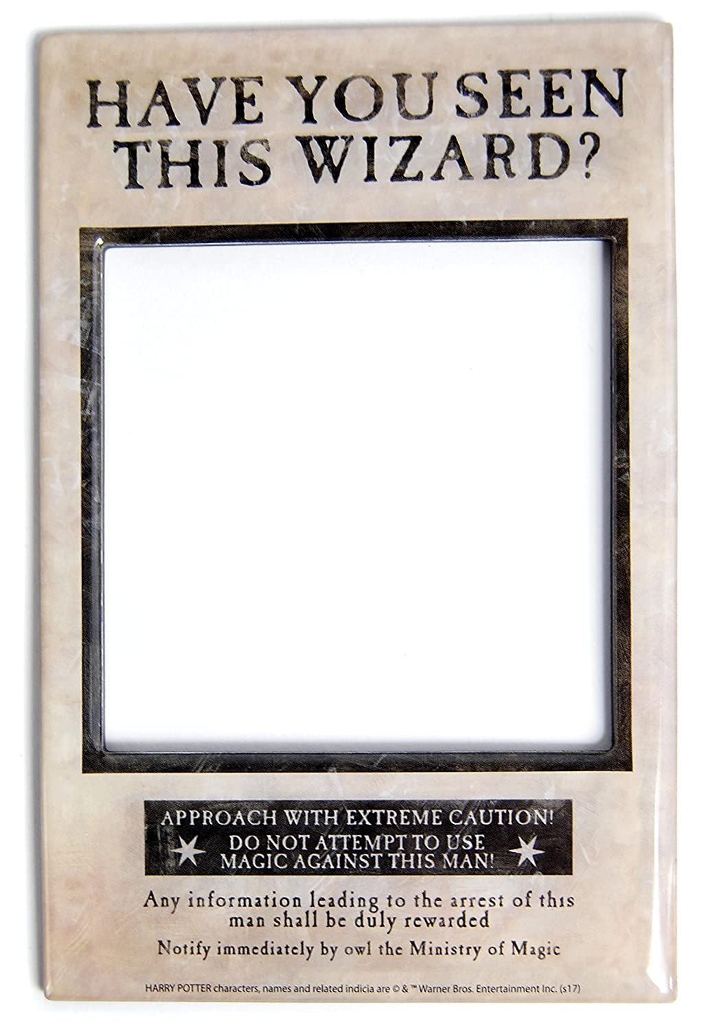 Harry Potter Fridge Magnet Photo Frame Sirius Black Pack (6) Half ...