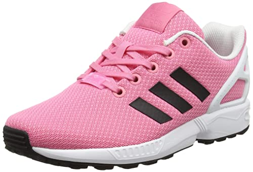 best loved 64a43 8b843 adidas Girls' Zx Flux J Derbys