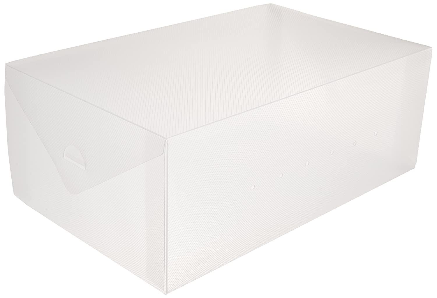 Greenco Clear Foldable Shoe Storage Boxes-10 Pack GRC2219