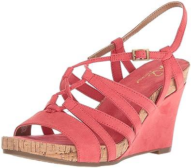 4678b9782c1 Aerosoles A2 Women s Poppy Plush Wedge Sandal