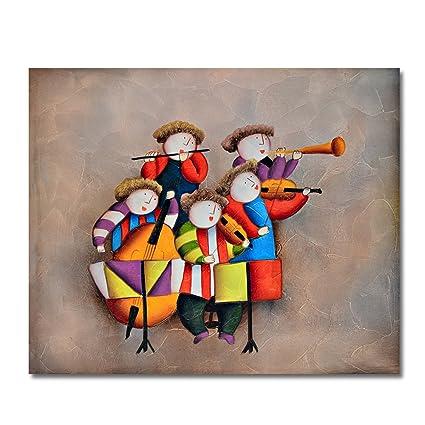 Raybre Art® 50 * 60 cm Pintura al óleo Cuadros Abstracto sobre Lienzo 100%