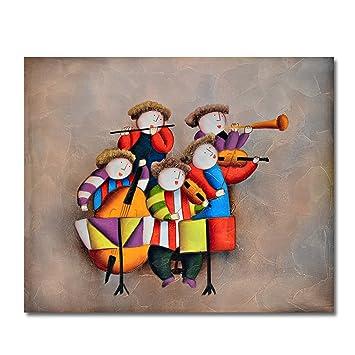Raybre Art® 50 * 60 cm Pintura al óleo Cuadros Abstracto sobre Lienzo 100%. Pasa ...