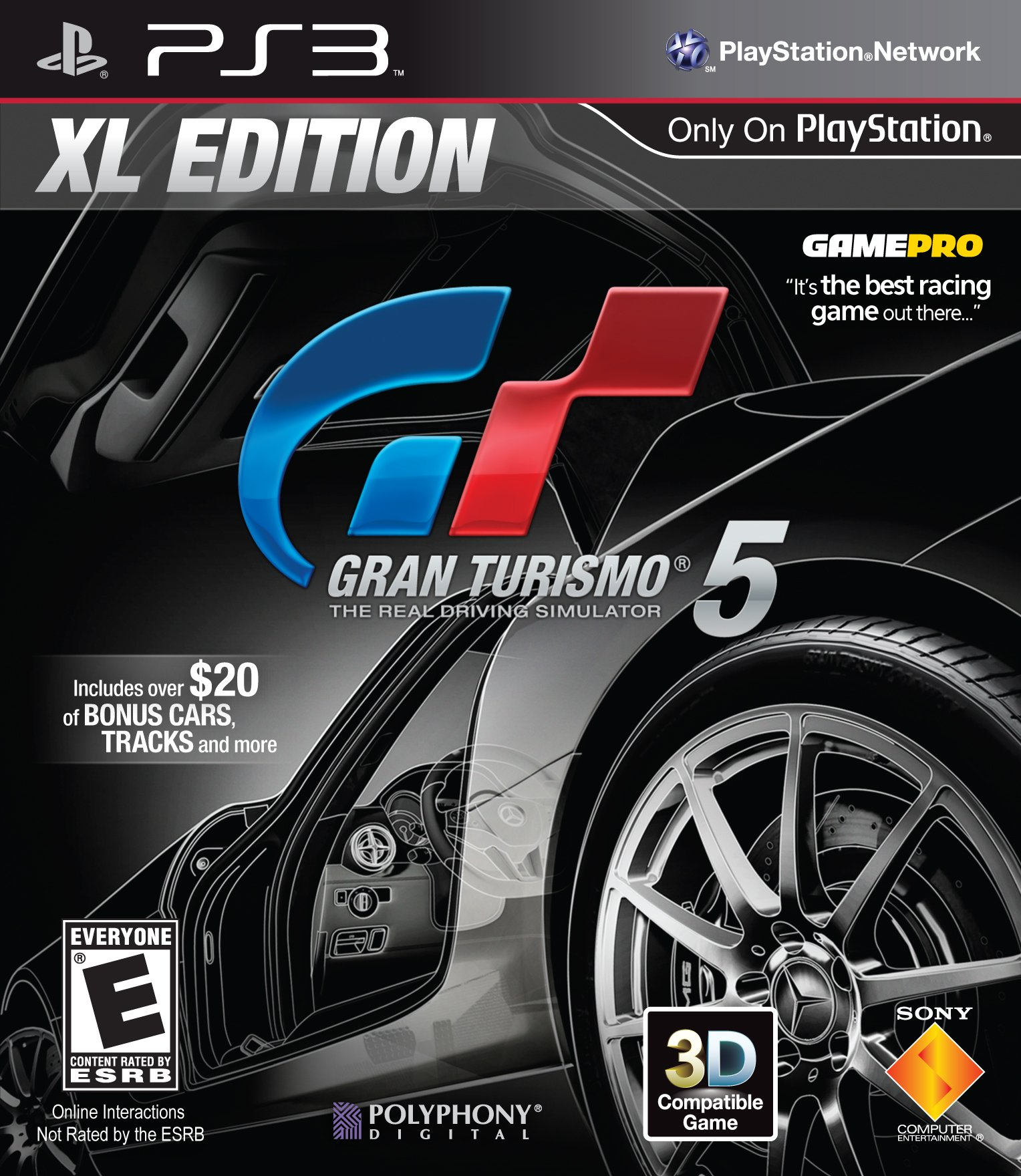 PS3 : Gran Turismo 5 XL Edition