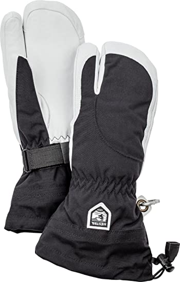 18481d2ec Amazon.com: Hestra Womens Extra Warm Ski Gloves: Heli Leather Winter ...