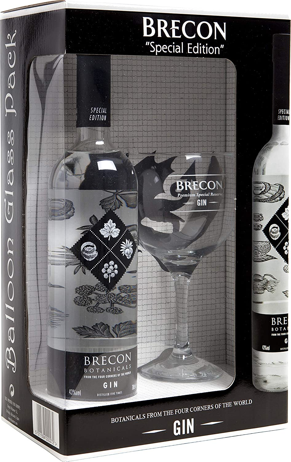 Brecon Limited Special Edition Gin Copa Balón - 700 ml: Amazon.es ...