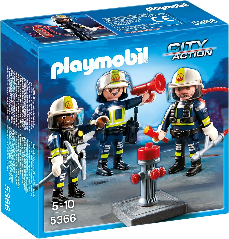 Playmobil Feuerwehr Zubehör - Playmobil Feuerwehr-Team
