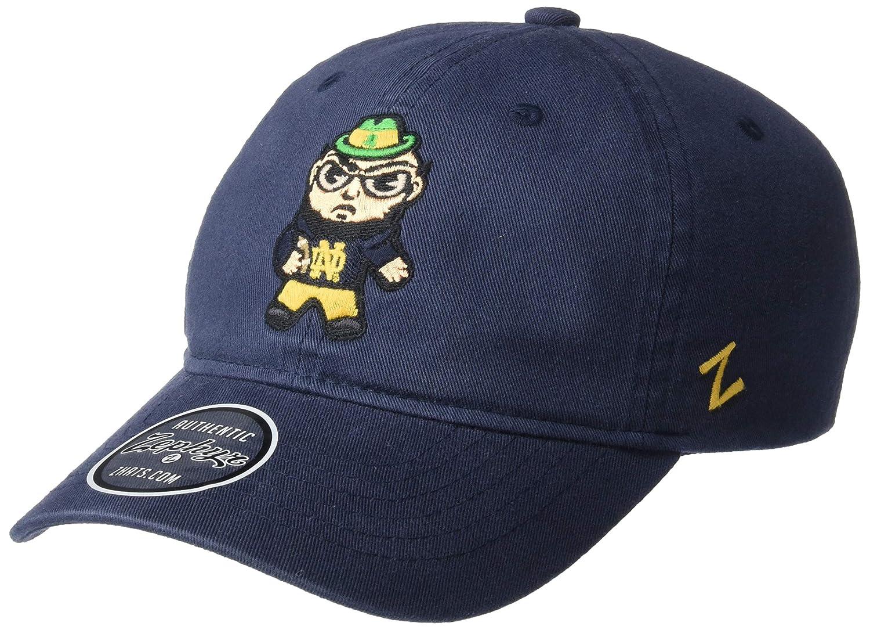NCAA Zephyr Notre Dame Fighting Irish Mens Katsu Relaxed Hat Adjustable Primary Team Color