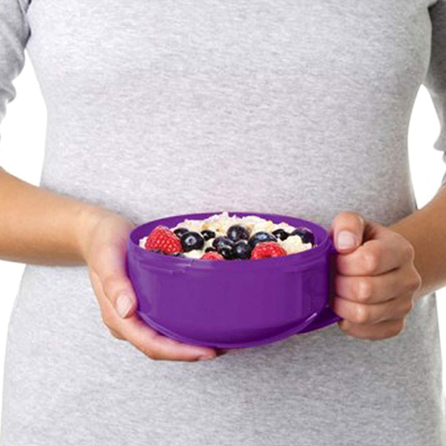 28.7 oz.//0.8 L Color Received May Vary Sistema To Go Collection Microwave Breakfast Bowl