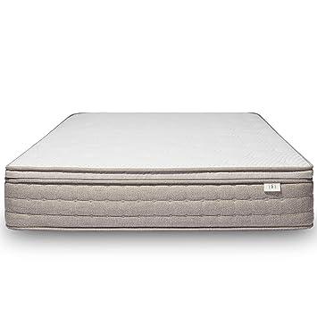 brentwood home palmetto natural latex mattress made in california queen - Brentwood Mattress