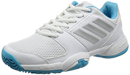 reputable site 08161 75a18 Adidas Barricade Club XJ Baskets enfants Junior Chaussures de tennis, ftwr  whitesilver met