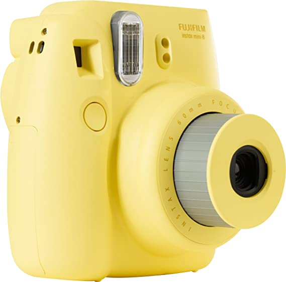 Fujifilm Instax Mini 8 - Cámara analógica instantánea (flash ...