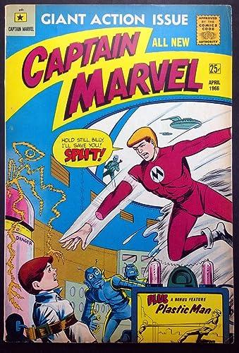 Amazon.com: Captain Marvel (1966) #1 by Carl Burgos-Original ...