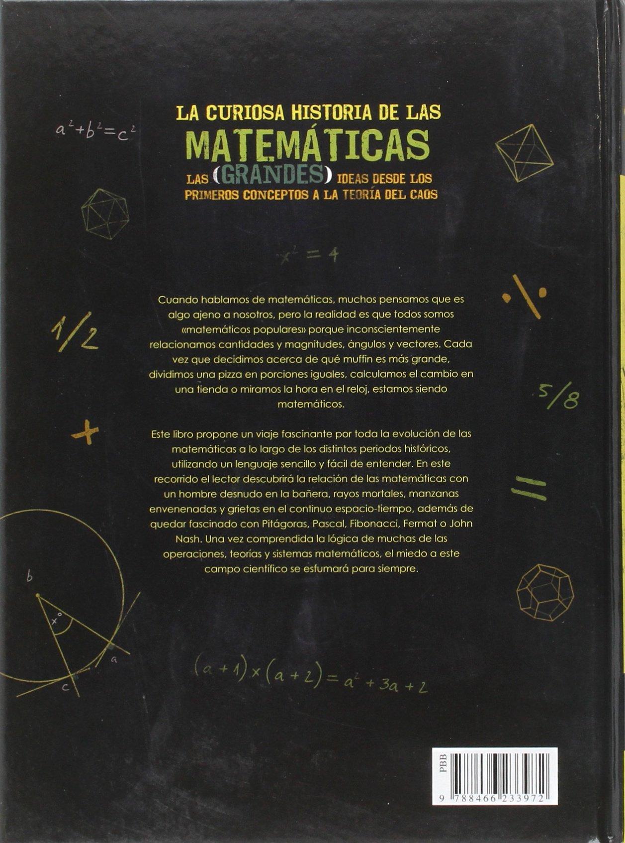 La curiosa historia de las matemáticas (Spanish Edition): Joel Levy, Libsa: 9788466233972: Amazon.com: Books