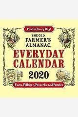 The 2020 Old Farmer's Almanac Everyday Box Calendar Calendar