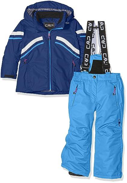 7c7eaafe3807 CMP 3W05465, Giacca e Pantaloni da Sci Bambini, Multicolore (Nautico), 128:  Amazon.it: Sport e tempo libero