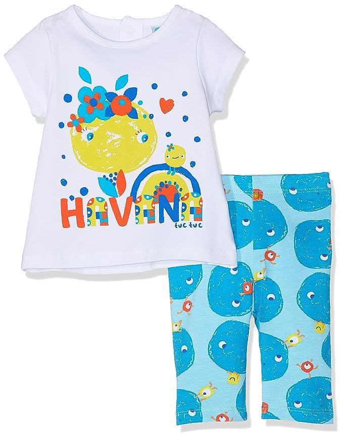 Tuc Tuc Camiseta+Leggings Punto Niña Havana&Friends, Conjunto de Ropa para Niñas