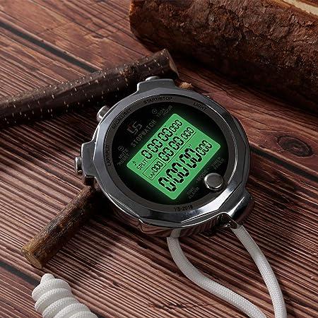 Amazon.com: LAOPAO Cronómetro de metal con cronómetro con ...