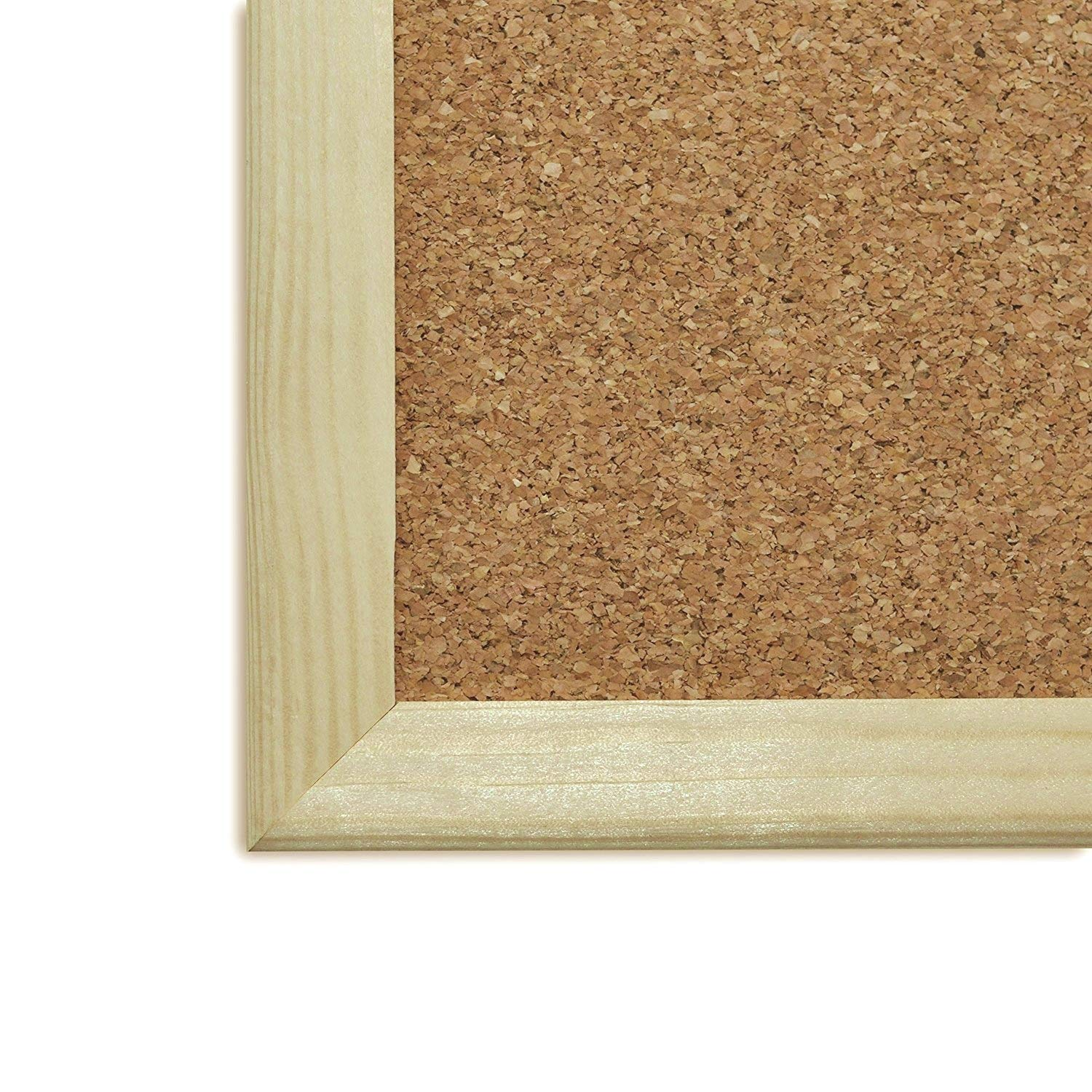 Bedroom /& Home School Made in EU 300 x 400 mm Cork Notice Board Thick Pine Frame Perfect for Office