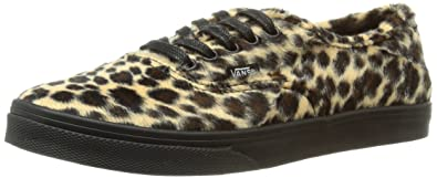 Vans Authentic Lo Pro Shoes - (Furry Leopard) Tan Black  Amazon.co ... 8f74d41ab