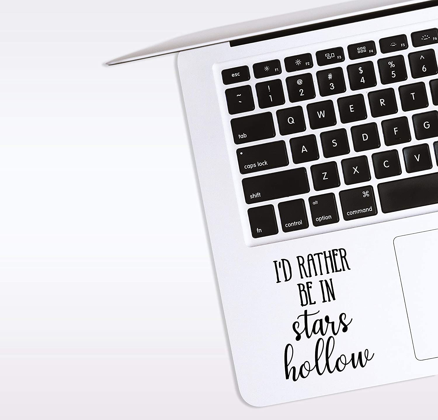 World Design Rather Be in Stars Hollow Laptop Corner Decal