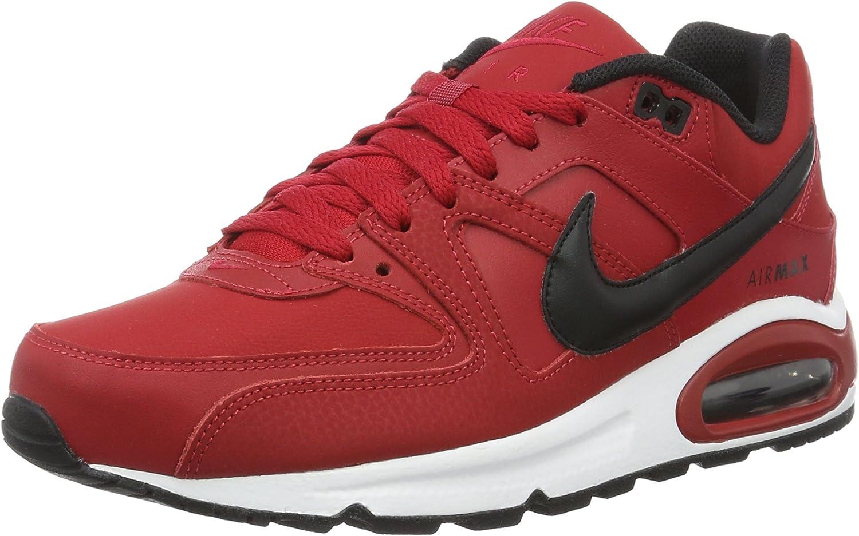 Nike Air Max Command Leather, Zapatillas de Running para Hombre, Rojo (Gym Red / Black-White), 46 EU: Amazon.es: Zapatos y complementos