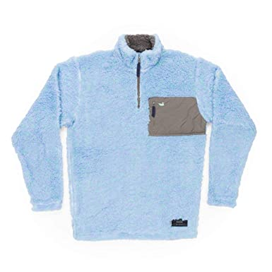 2ddf1410a8e Southern Marsh Blue Ridge Sherpa Pullover at Amazon Men s Clothing store