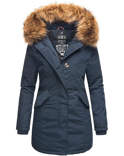Parka Winterjacke Winter Jacke Mantel Damen Stepp Y76yImbfgv