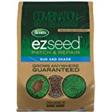 Scotts EZ Seed Patch and Repair Sun and Shade - 20 lb., Combination Mulch, Seed, and Fertilizer, Repairs Bare Spots, Includes