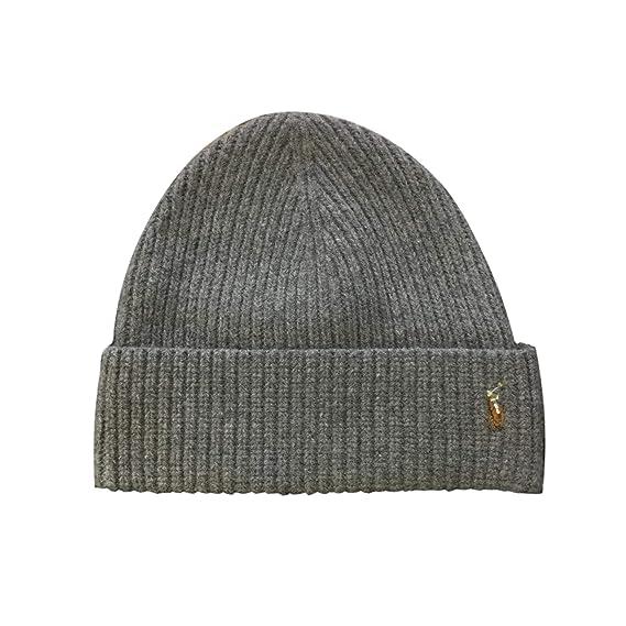 0eec9324 Polo Ralph Lauren Men's Skull Cap Beanie Hat, Black, One Size at Amazon  Men's Clothing store:
