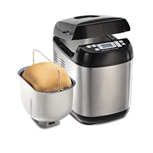 Hamilton Beach (29885) Bread Maker 2 Lbs. Capacity Stainless Steel