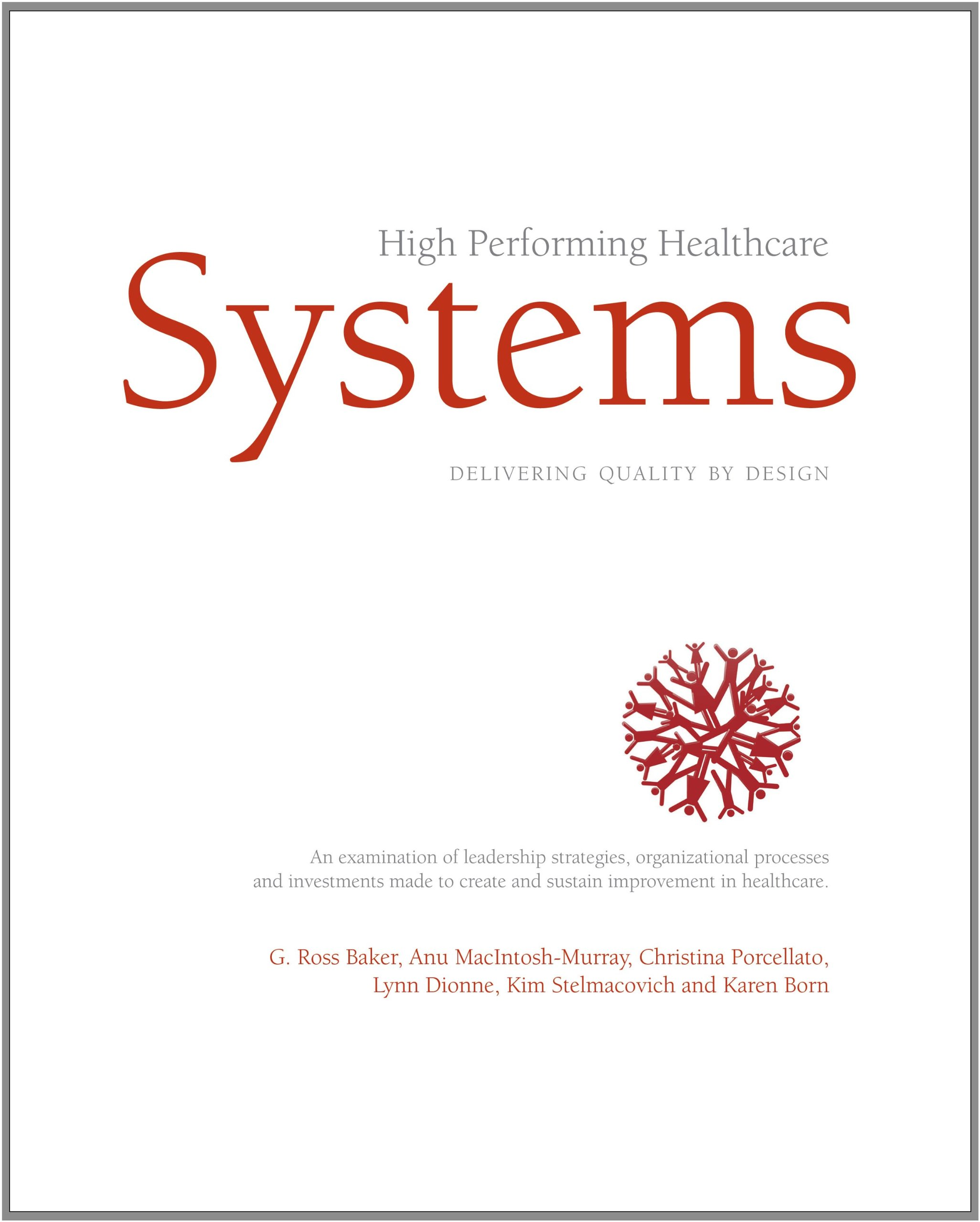 High Performing Healthcare Systems ebook