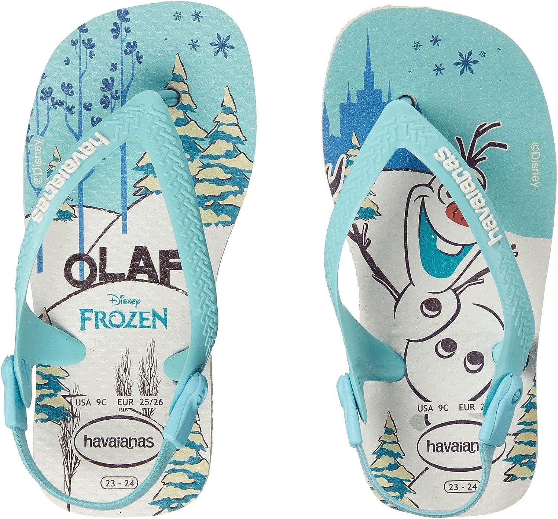 Havaianas Baby Frozen Rubber Flip Flops