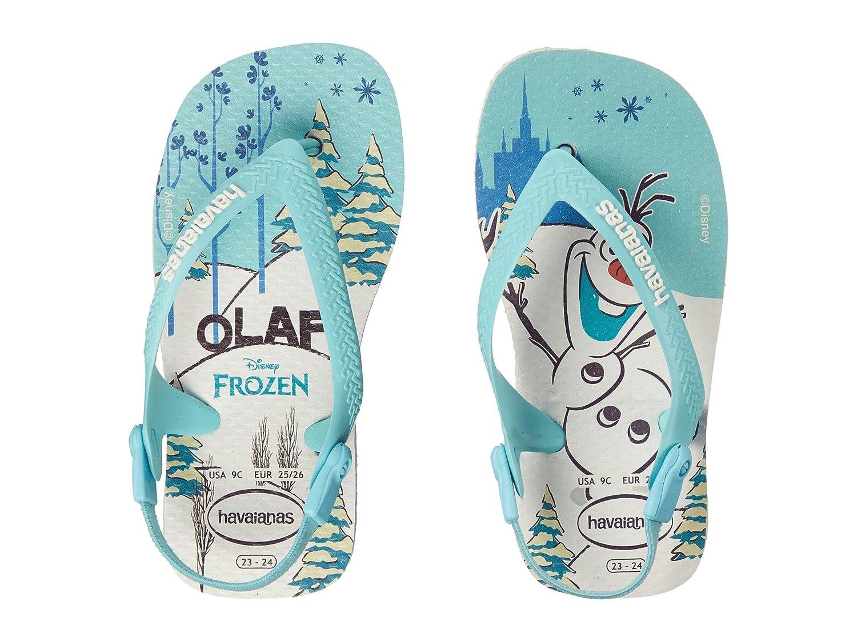 c4826587d2 Amazon.com: Havaianas Kids Womens Baby Frozen Flip Flops (Toddler): Shoes