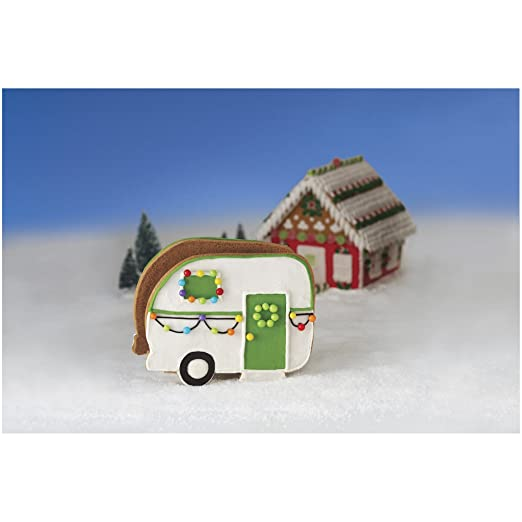 Build/Decorate It Yourself Camper made our list of the most unique camping Christmas tree ornaments to decorate your RV trailer Christmas tree with whimsical camping themed Christmas ornaments!