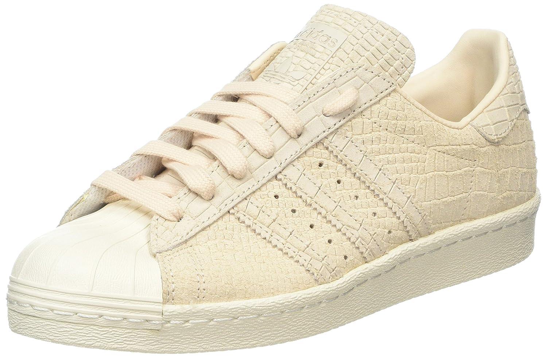 Adidas Superstar 80s, Zapatillas Altas para Mujer 38 EU|Beige (Linen/Linen/Off White)
