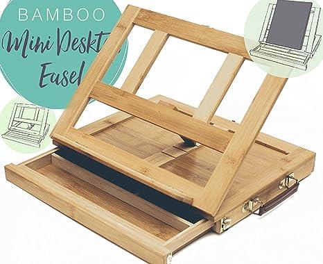 Tavolo Da Disegno Portatile : Bamboo artista cavalletto per pittura e disegno portatile da