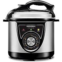 Panela de Pressão Elétrica Mondial, Pratic Cook 3L Premium, 127V, Preto, 700W - PE-26
