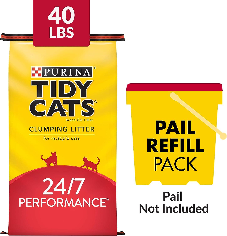 Arena sin polvo para gatos