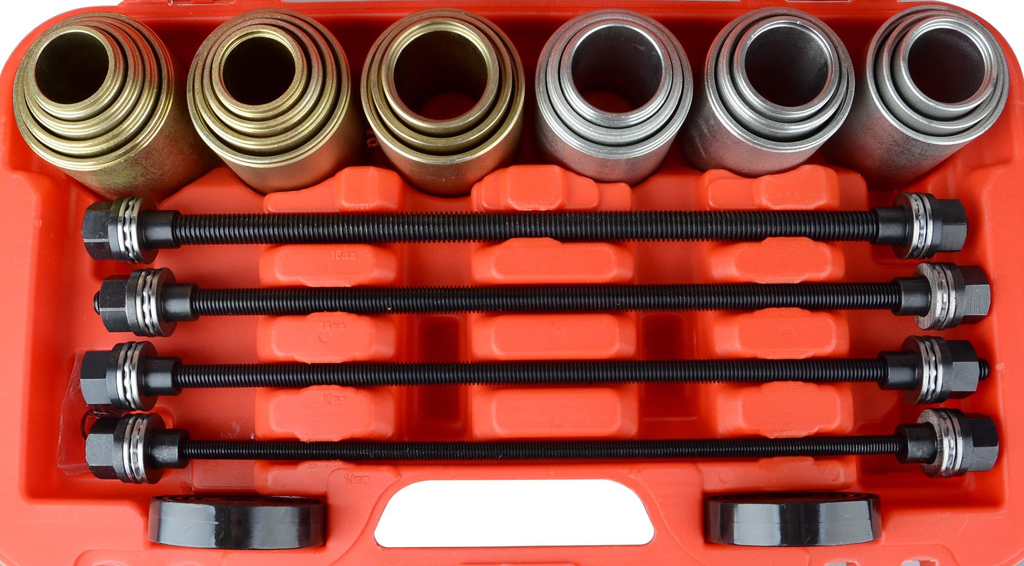 DA YUAN Universal Press and Pull Sleeve Remove Install Bushes Bearings Garage Tool Kit by DA YUAN (Image #2)