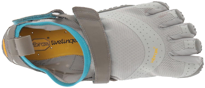 Vibram Women's V-Aqua Grey/Blue Water Shoe B072KKJ65C 40 EU/8-8.5 M US B EU (40 EU/8-8.5 US US)|Grey/Blue