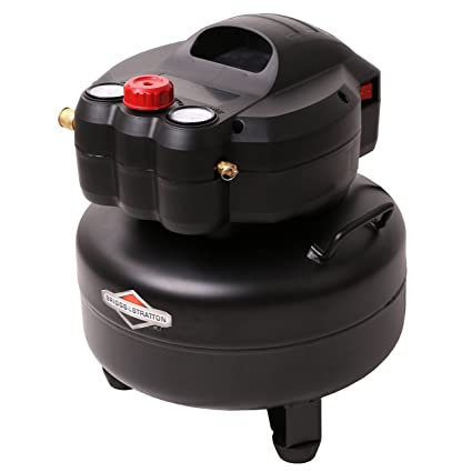 Briggs & Stratton 6-Gallon Air Compressor, Pancake 074019-00 - - Amazon.com