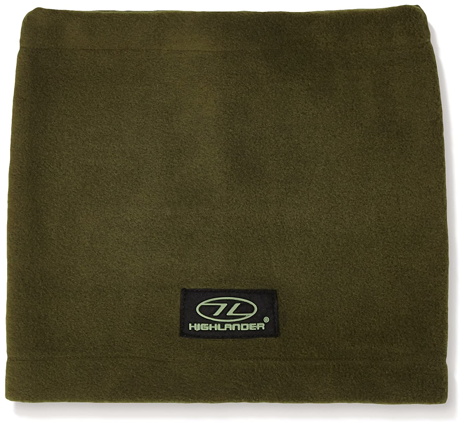Highlander Polar Fleece Neckwarmer ― Available in Black and Olive Green ― Great Snood for Autumn/Winter, Skiing, Walks, Hiking, Motorbikes, Cycling, Dog walkers