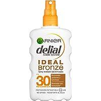 Garnier Delial Ideal Bronze Spray Revelador del Bronceado para Pieles Claras, Protector Solar IP30+ - 200 ml