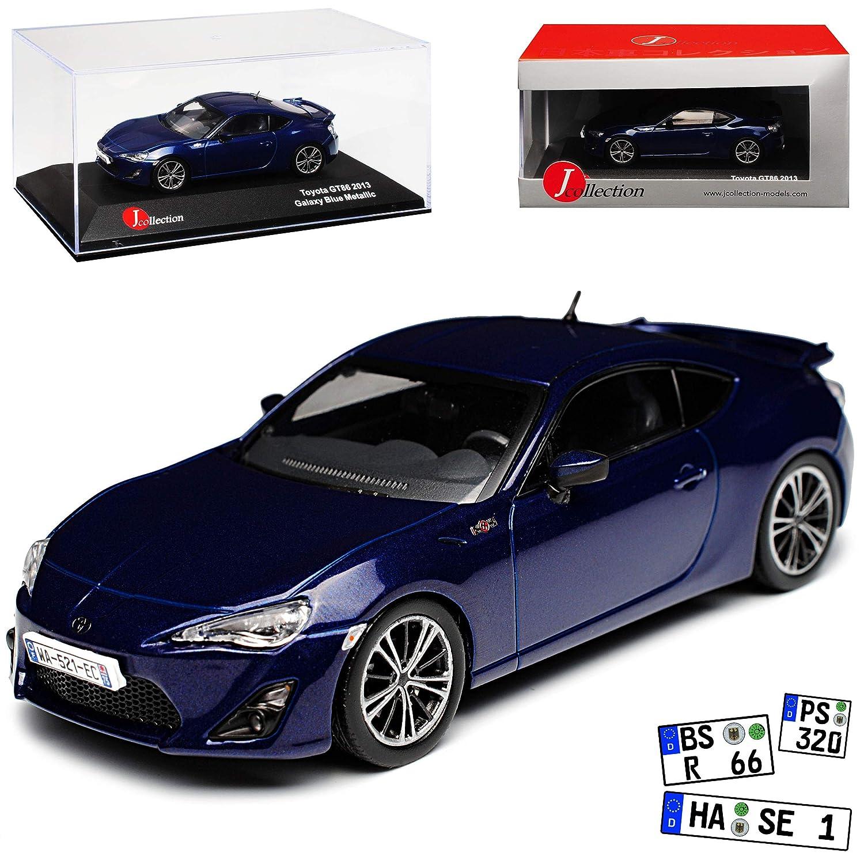 J-Collection Toyota GT86 Coupe Blau Ab 2012 1 43 Modell Auto mit individiuellem Wunschkennzeichen B00KL8XKV2 Miniaturmodelle Billig ideal | Bestellungen Sind Willkommen