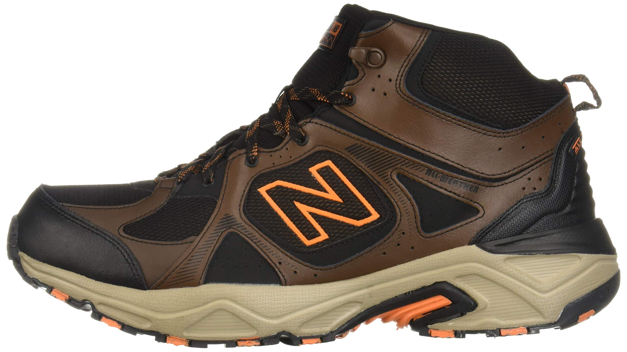 New Balance Men's 481 V3 Cushioning Trail Running Shoe Adrift/Black/Mercury 9 D US by New Balance (Image #5)