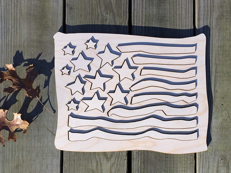 American Flag Puzzle