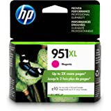 HP 951XL Ink Cartridge, Magenta High Yield (CN047AN) for HP Officejet Pro 251, 276, 8100, 8600, 8610, 8620, 8625, 8630