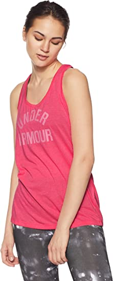 TALLA M. Under Armour Camiseta de Deporte con Logotipo para Mujer-Twist (Pack de 33)